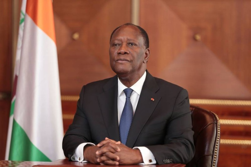 Le Président ivoirien Alassane Ouattara. (DR)