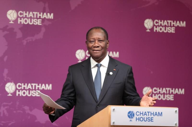 Le Président Ouattara était, hier, à la Chatham House.
