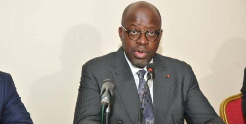 Alain-Richard Donwahi, ministre ivoirien des Eaux et forêts. (DR)