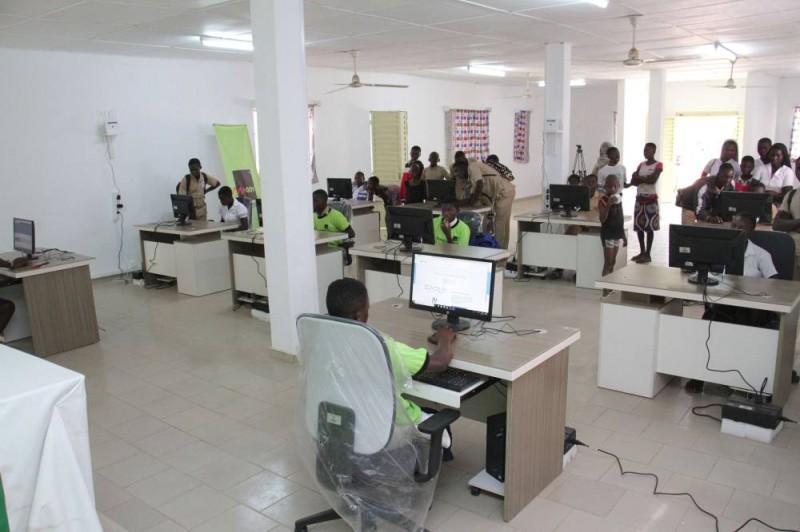 Une salle multimédia pour les jeunes (DR)