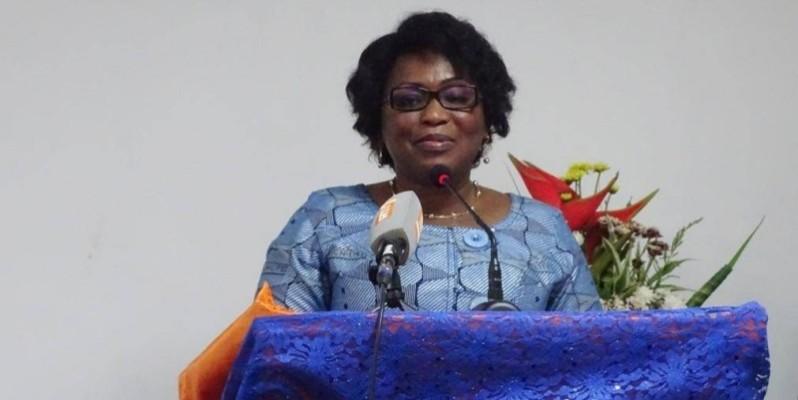 Namizata Sangaré, présidente du Cndh. (DR)