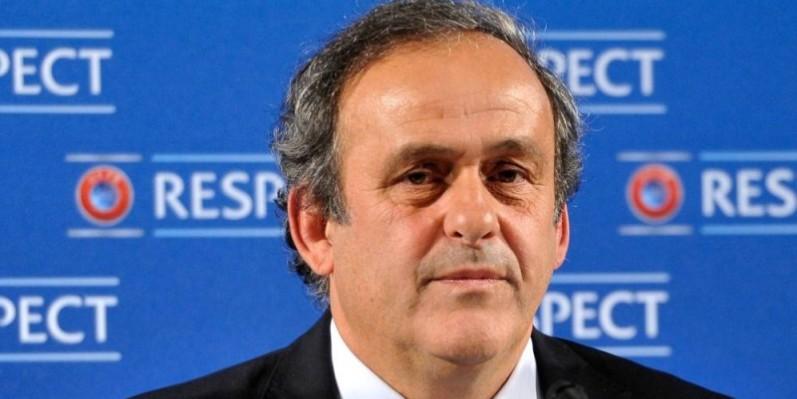 Michel Platini est de retour après quelques années de suspension de toute activité liée au sport. (DR)