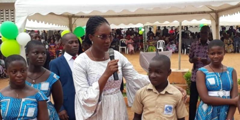 Les meilleurs élèves du premier trimestre du lycée Pierre Gadié 1 de Yopougon ont été récompensés. (DR)