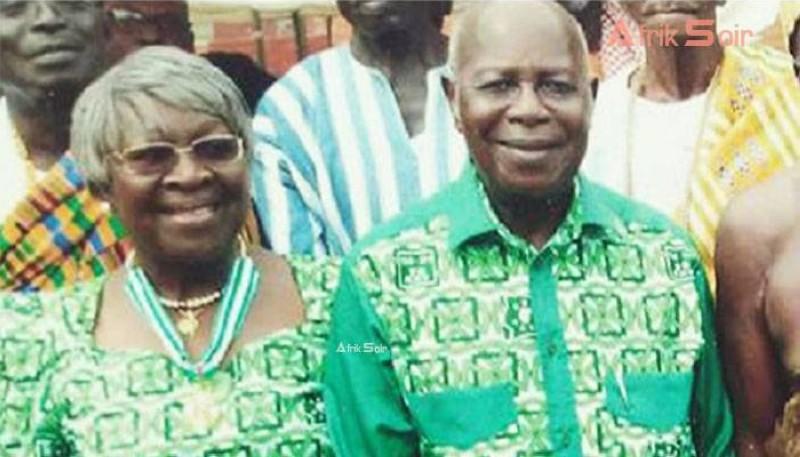 Hortense et Joseph Aka-Anghui. (DR)