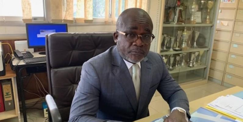 Henri Koula, proviseur du lycée scientifique de Yamoussoukro. (DR)
