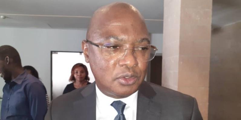 Charles kouassi, directeur général de la Cnps. (DR)