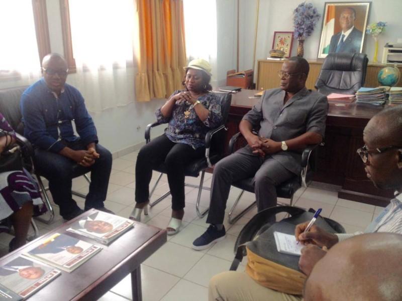 La présidence du Cndh s'entretient avec les autorités administratives (DR)