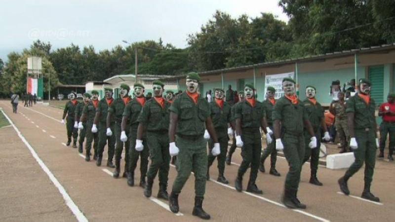 Des éléments de la Brigade Spéciale de Surveillance et d'Intervention (Bssi) en formation (DR)