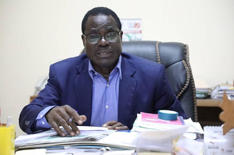 Le maire de Sakassou, Kouadio Kouamé Eugène. (DR)