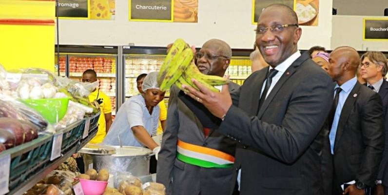Souleymane Diarrassouba, ministre en charge du commerce. (DR)