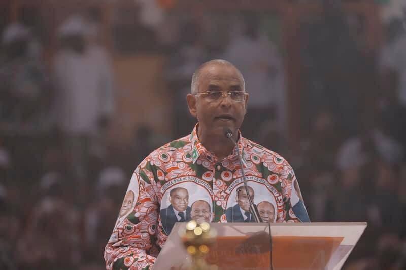 Le ministre Patrick Achi, secrétaire général de la présidence de la République (DR)
