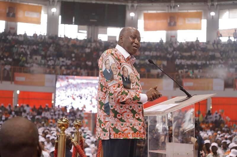 Le premier ministre Amadou Gon Coulibaly, membre du directoire du Rhdp (DR)