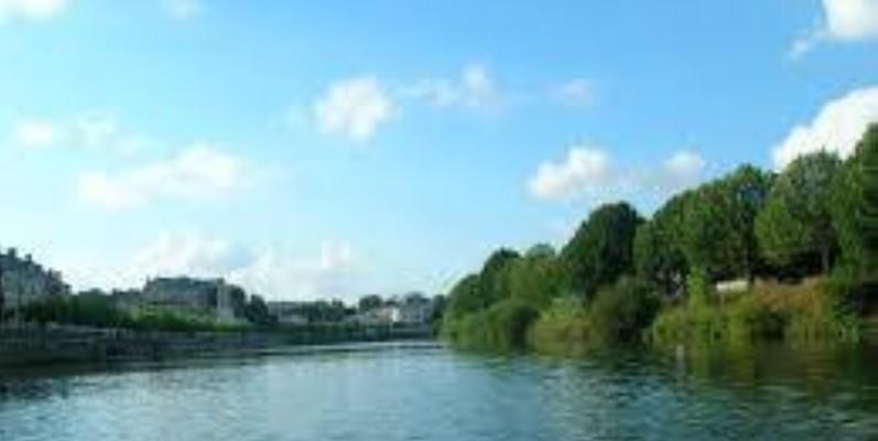 Une vue d'un fleuve dans le département d'Adzopé. (DR)