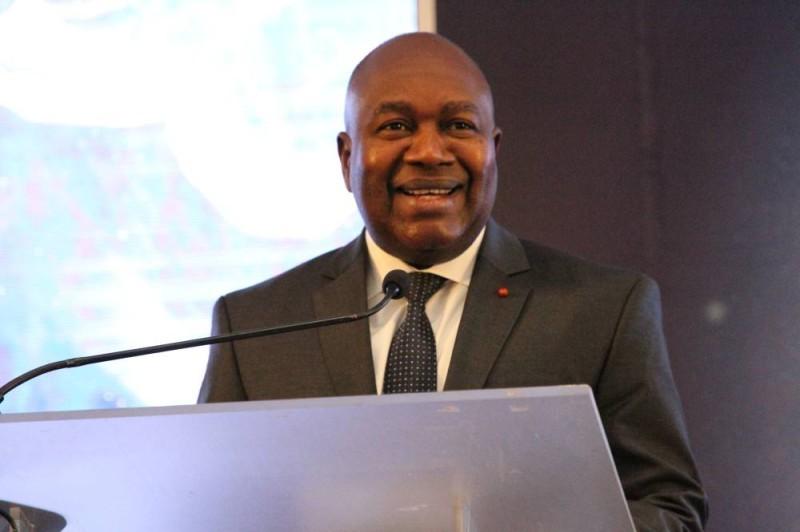 Le ministre de l'Administration du territoire et de la Décentralisation, Sidiki Diakité. (Joséphine Kouadio)
