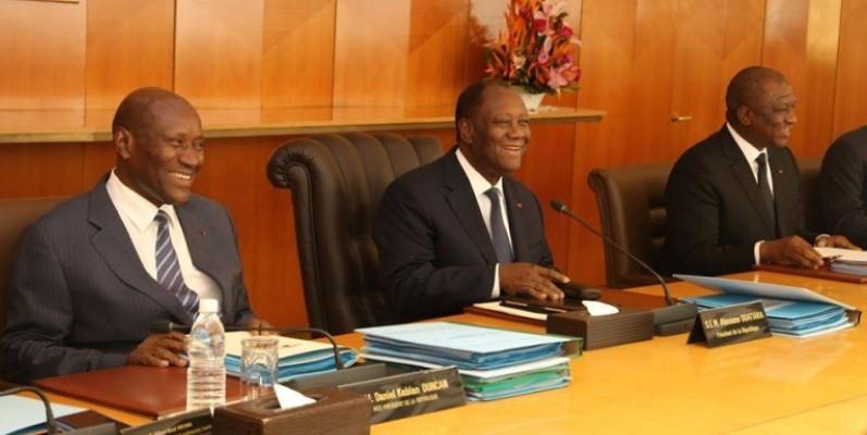 Le gouvernement a tenu sa réunion hebdomadaire ce mercredi. (Dr)