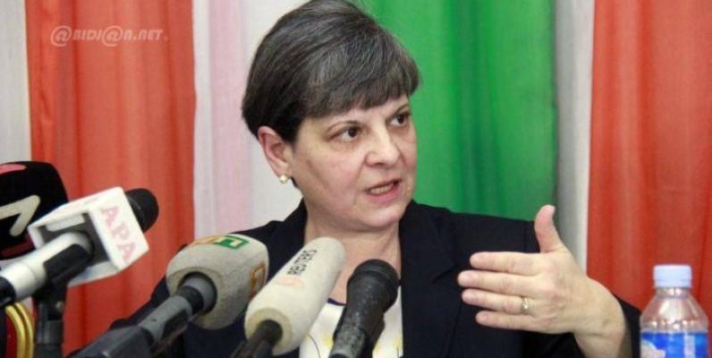 Paolina Massida, avocate des victimes ivoiriennes dans le procès devant la Cpi. (DR)