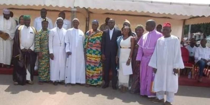 La table ronde est placée sous la co-présidence des leaders religieux de Côte d'Ivoire. (DR)