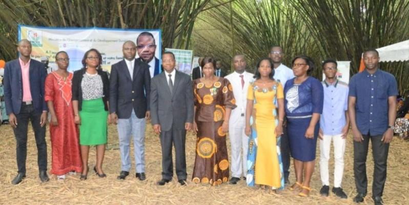 Le Pr Joseph Séka Séka a reçu les vœux du nouvel an de ses collaborateurs. (DR)
