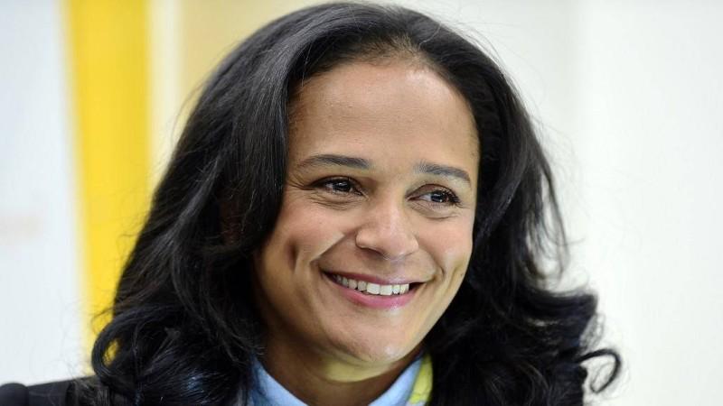 Isabel dos Santos, la fille de l'ex-président angolais Jose Eduardo dos Santos (DR)