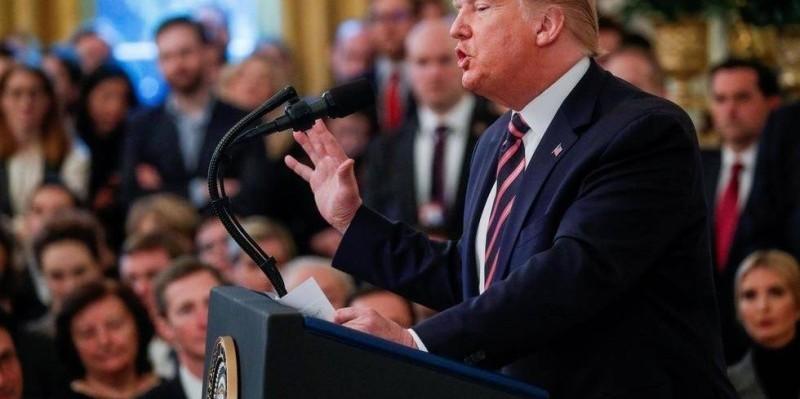 Donald Trump à la Maison Blanche le 6 février 2020. (DR)