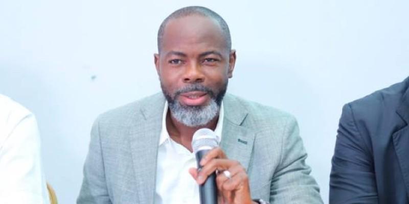 Mahama Coulibaly a présenté les grands axes de la saison aux clubs. (Dr)