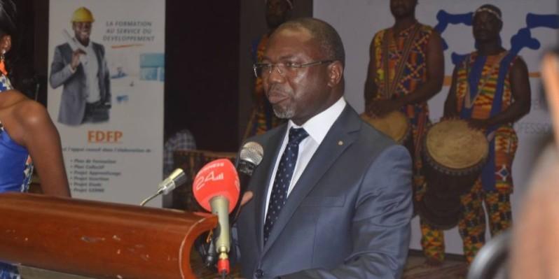 Le secrétaire général du FDFP, Ange-Léonid Barry Battesti a dressé le bilan de l'année 2019. (DR)