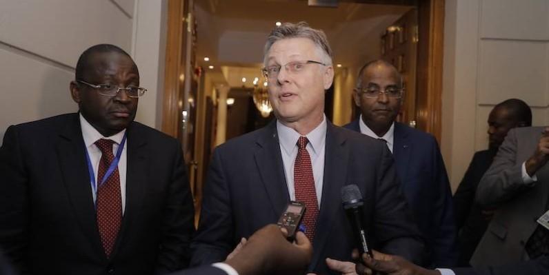 Matthew Harrington, sous-secrétaire d'Etat adjoint aux affaires africaines. (DR)