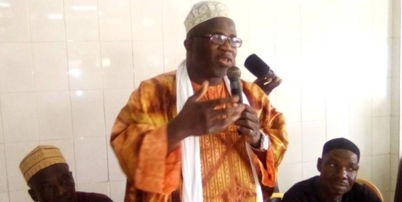 Almamy Cissé est le nouveau président du Conseil supérieur islamique de Côte d'Ivoire. (Jean Bavane)