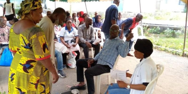 Outre les ateliers et expositions, l'événement a donné lieu à des séances de dépistage du diabète et de l'hypertension artérielle. (DR)