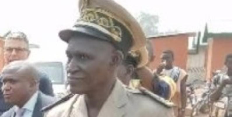Le préfet du département de Bloléquin, Sidiki Coulibaly. (Saint-Tra Bi)