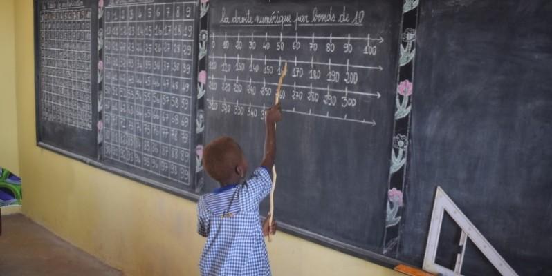 La méthode d'apprentissage des mathématiques utilise le comptage par dizaines. (Bledson Mathieu)