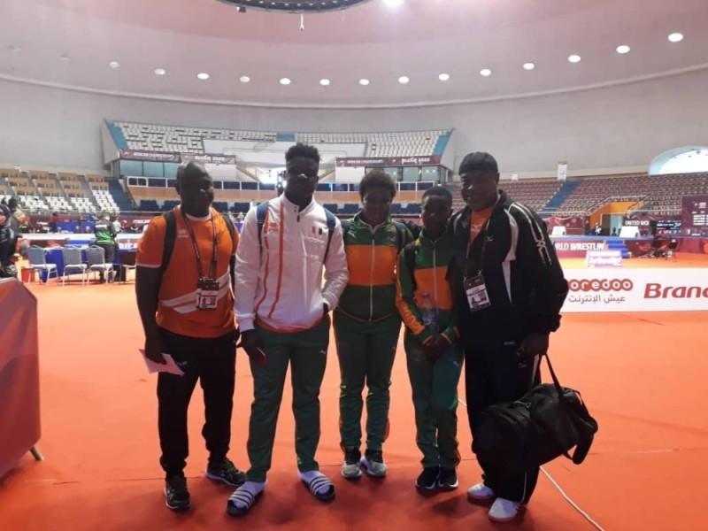La délégation ivoirienne a fait bonne impression à Alger. (Photos: dr).