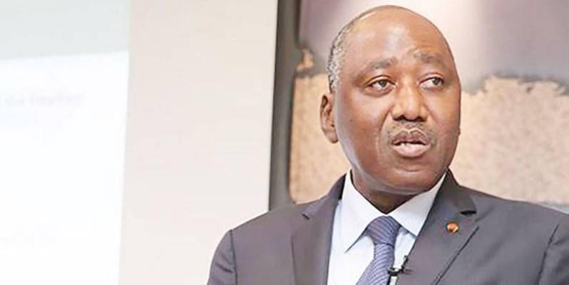 Le Premier ministre ivoirien Amadou Gon Coulibaly. (DR)
