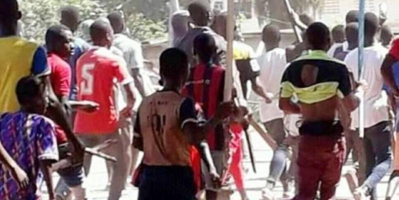 La foule a lynché un homme soupçonné d'avoir fait disparaître le sexe d'une élève à Bin-Houyé. (DR)