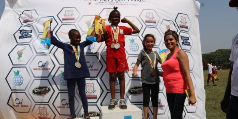 Les vainqueurs sont repartis avec des médailles et des trophées.(DR)