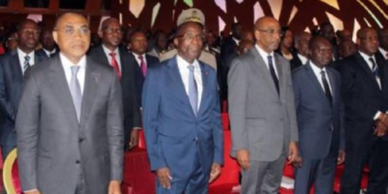 La cérémonie de la 4ème édition de la Journée nationale du partenariat (JNP) entre l`État et le secteur privé s`est tenue ce lundi 7 octobre 2019 à Abidjan Sofitel Hôtel Ivoire en présence de plusieurs membres du gouvernement. (DR)