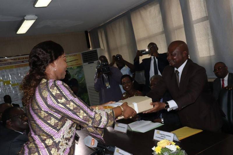 Passation de charge à Côte d'Ivoire Tourisme (DR)