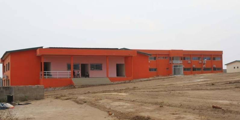 Le nouveau siège du Conseil régional du Gbôklê. (Véronique Dadié)