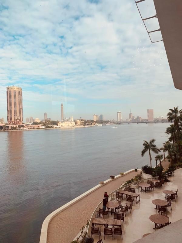 Le Nil, qui traverse toute la ville du Caire (Ph: Venance Konan)
