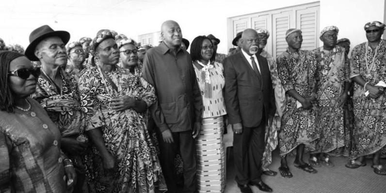 Amadou Gon Coulibaly attend des chefs traditionnels leur soutien dans la politique économique que le Président Alassane Ouattara est en train de mener en Côte d'Ivoire. (Poro Dagnogo)