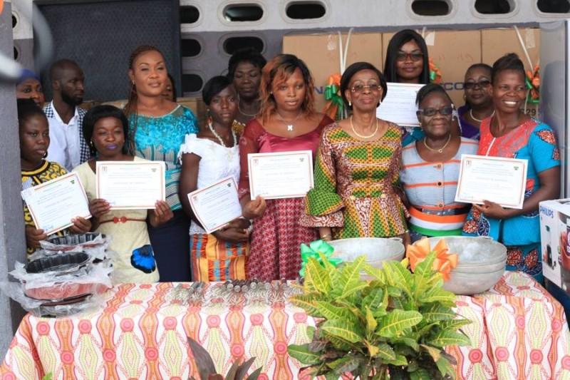 Ramata Ly-Bakayoko veut, à travers des réformes, faire des Ifef, une école de la seconde chance pour les femmes. (Photo Dr)