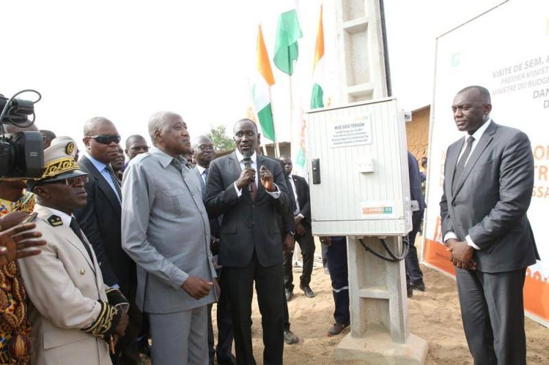 Les explications techniques du ministre en charge de l'énergie, Abdourahmane Cissé, au Chef du gouvernement.