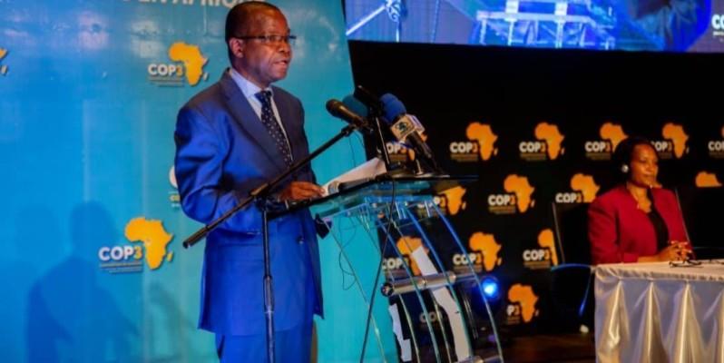 Le ministre Joseph Seka Seka. (DR)