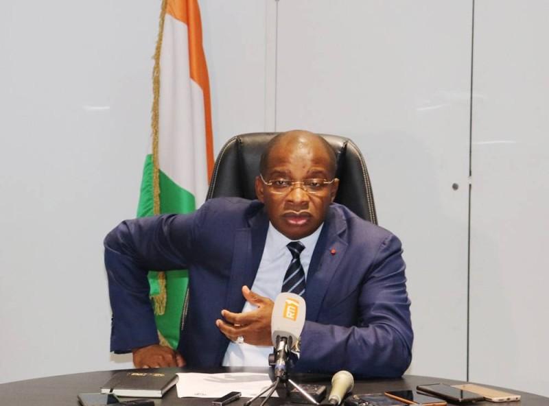 Le ministre du Tourisme et des Loisirs, Siandou Fofana (DR)