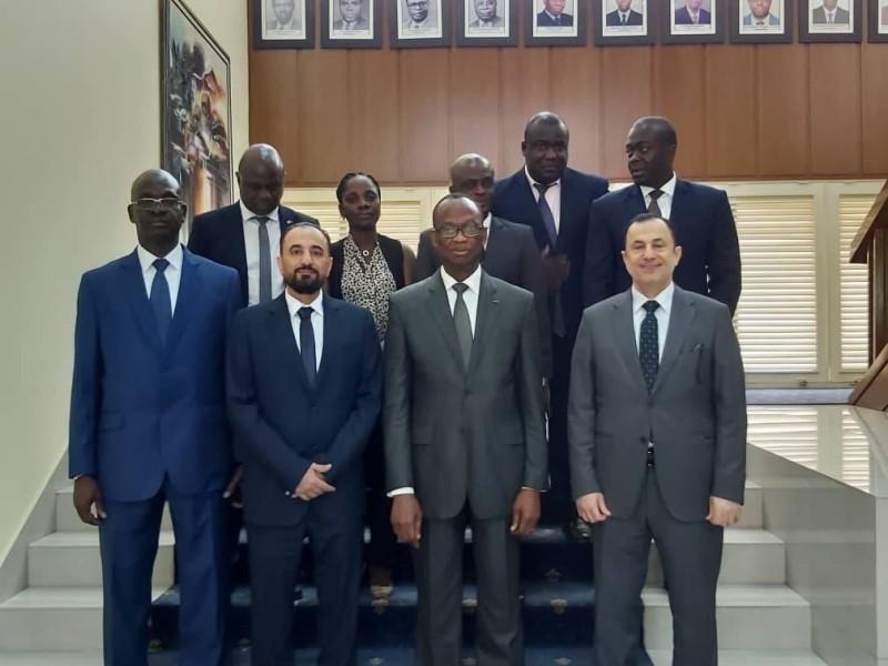 Daouda Diabaté a demandé à Khaled Al Bakri de se faire l'écho des potentialités de la Côte d'Ivoire auprès de ses homologues du secteur privé saoudien.