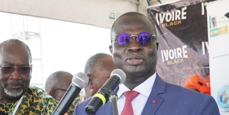 Le ministre Emmanuel Esmel Essis a appelé au renforcement de la cohésion des Adjoukrou. (DR)