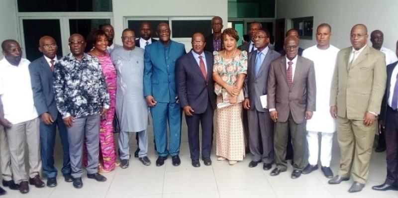 Les groupements politiques de l'opposition ivoirienne dans leur ensemble. (DR)