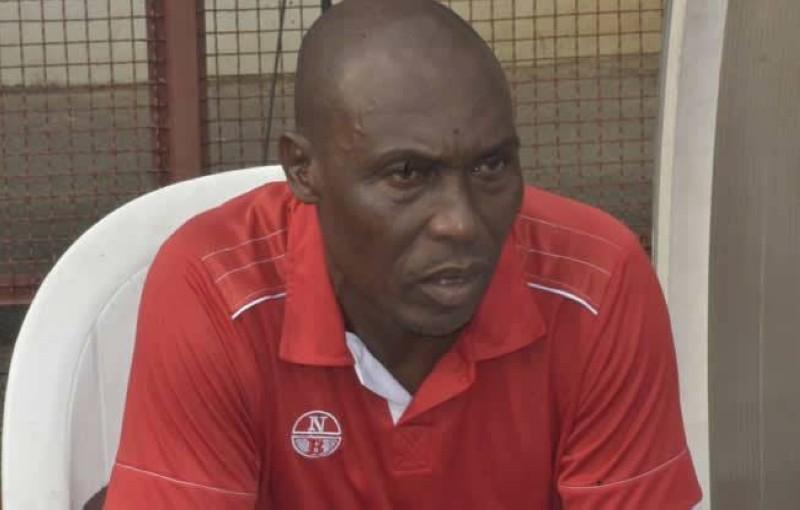 Lignon Nagbeu, le nouvel entraîneur de l'Africa sports. (DR)