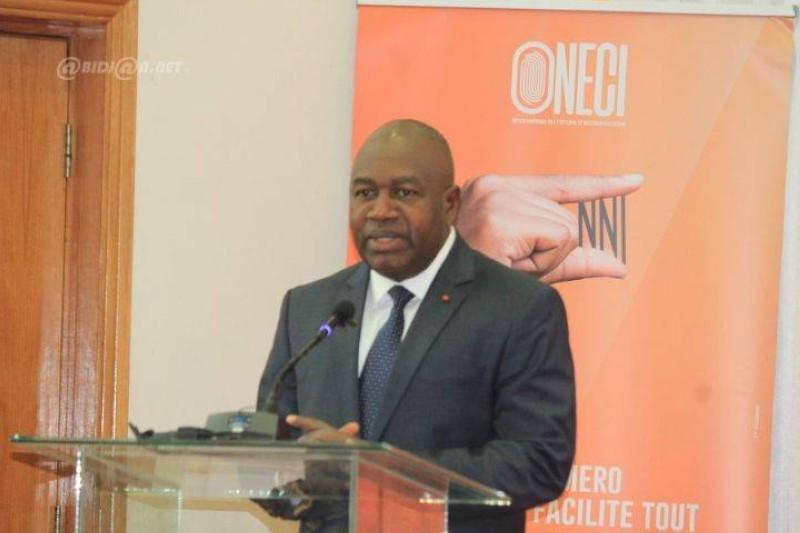 Le ministre en charge de l'administration du territoire, Sidiki Diakité (DR)