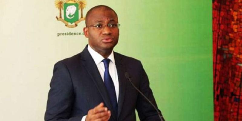 Le ministre de la Communication et des Médias, Sidi Touré, porte-parole du gouvernement. (Dr)